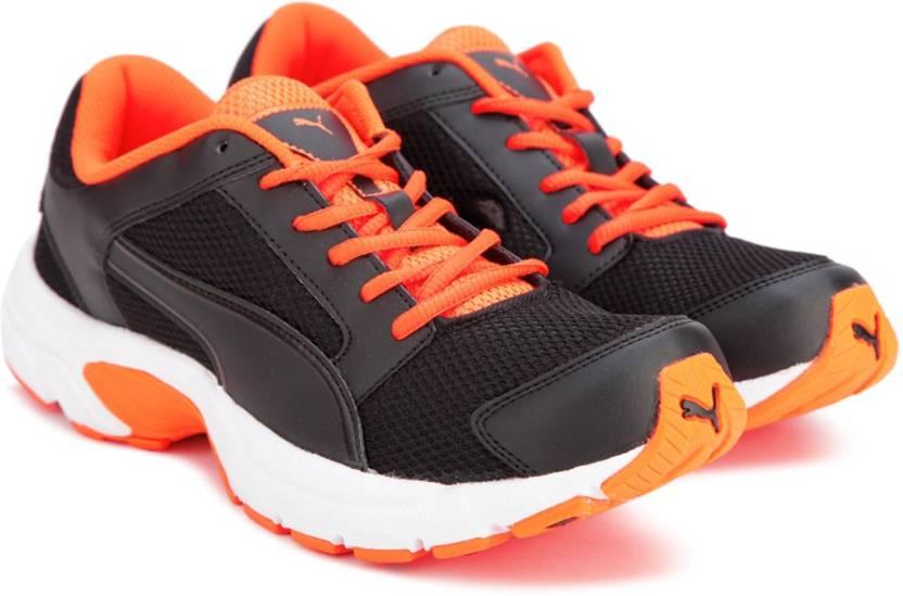 667c9286ed4 Puma Splendor DP Running Shoes For Men - Buy Puma Black-Orange Clown ...