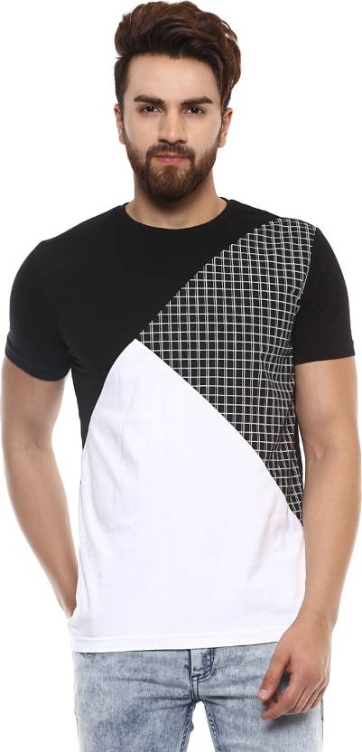 a5623a27 Mufti Solid Men Round Neck Black T-Shirt - Buy 01-BLACK Mufti Solid Men  Round Neck Black T-Shirt Online at Best Prices in India | Flipkart.com