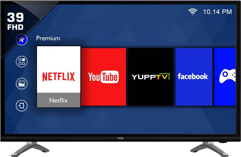 Vu 98cm (39 inch) Full HD LED Smart TV  (LED40K16)- 17% OFF