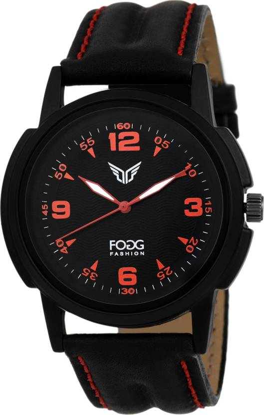 Fogg 1093-BK Modish Watch - For Men