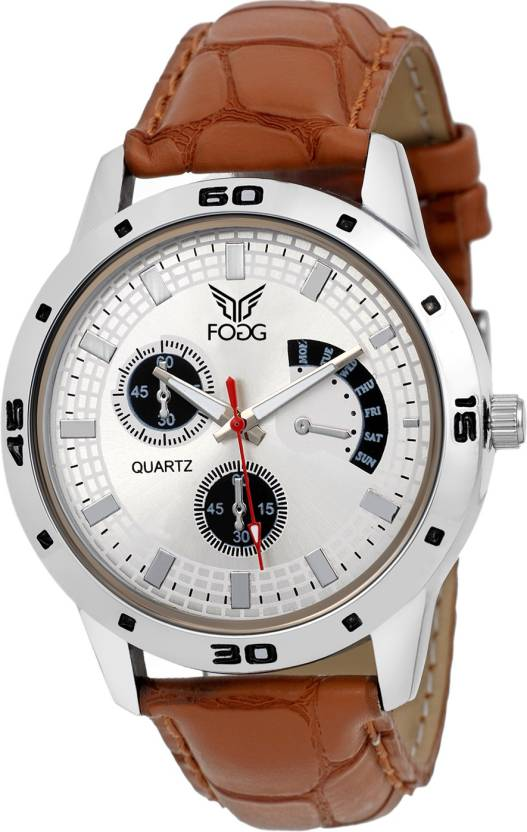 Fogg 1094-BR Modish Watch - For Men