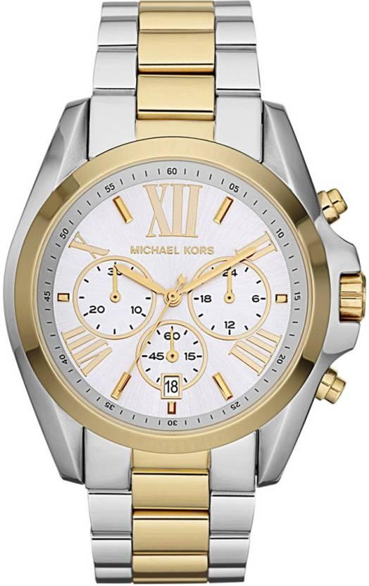 583e91948073 Michael Kors MK5627 Chronograph Silver and Gold-tone Watch - For Men - Buy  Michael Kors MK5627 Chronograph Silver and Gold-tone Watch - For Men MK5627  ...