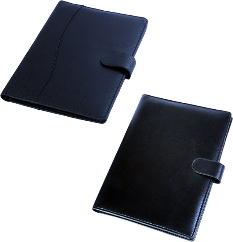 COI Leatherite Black Stylish File Folder And Resume Folder For Documents  And Certificate For Office Executive  Resume Folder