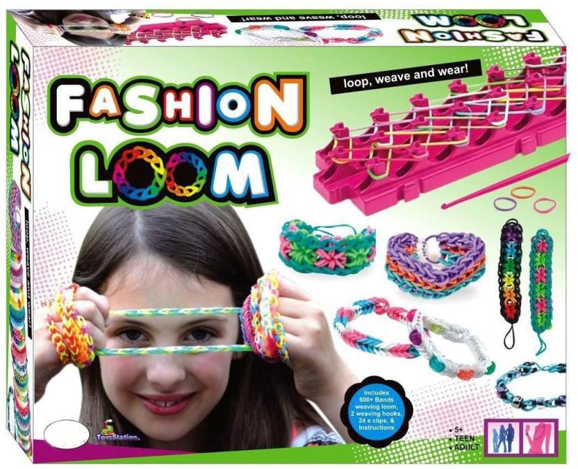 Kaleido-loom rubber bands loom bracelet kit party favor