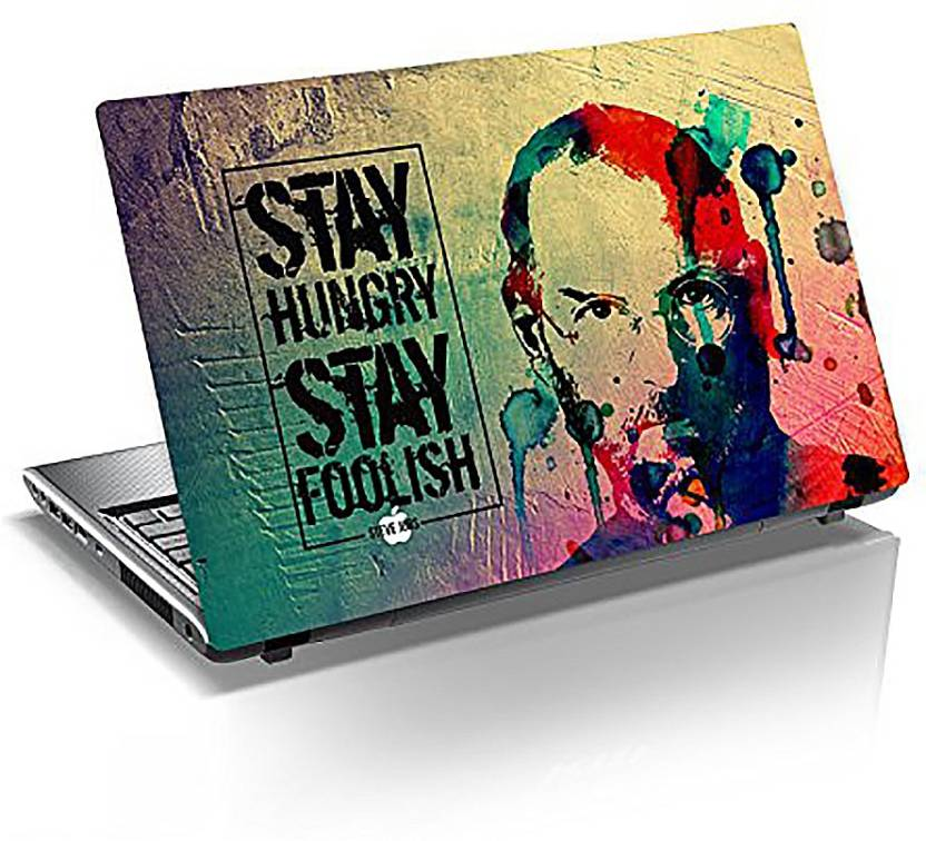 Monika Creations Original Steve Jobs Design Laptop Skin Vinyl