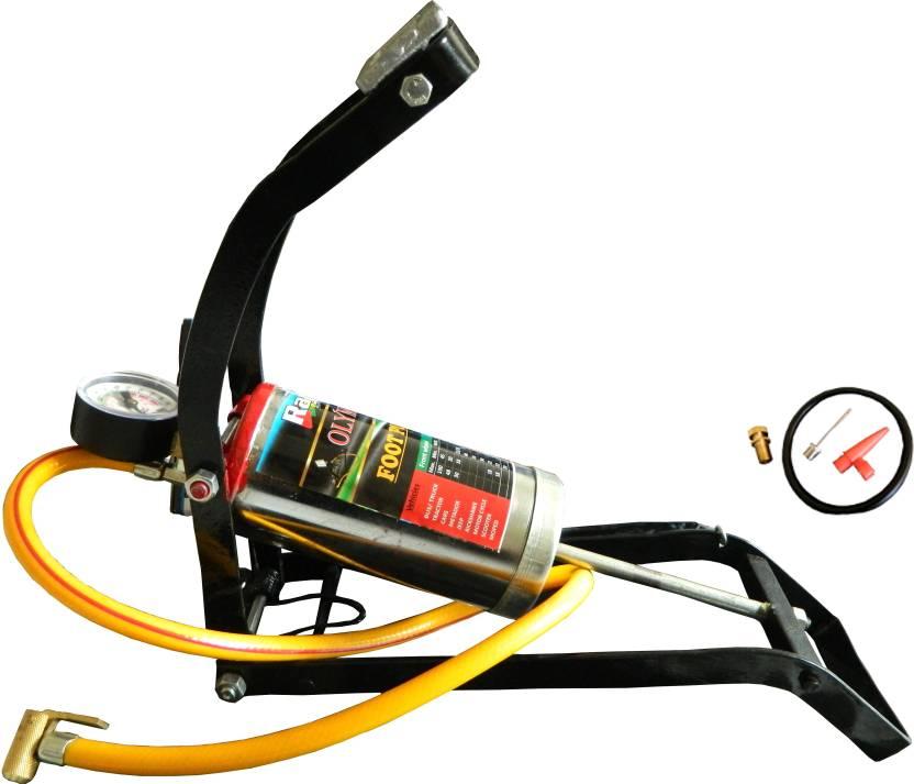 Raj 150 Psi Tyre Air Pump For Car Bike Price In India Buy Raj
