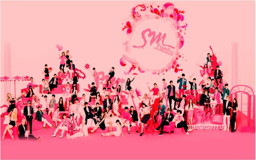 Kpop SM Town poster for room Paper Print - Music, Quotes