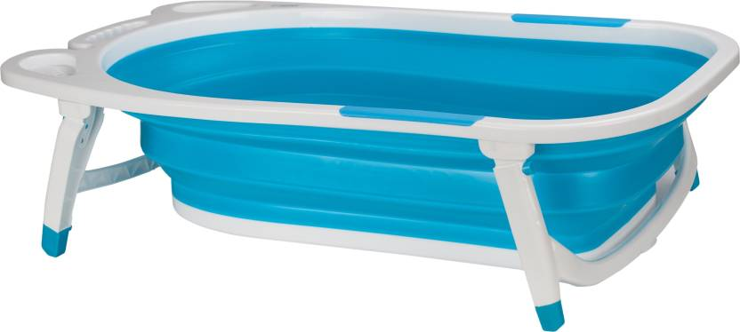U-Grow Folding Silicone Baby Bath Tub - Blue Price in India - Buy U ...