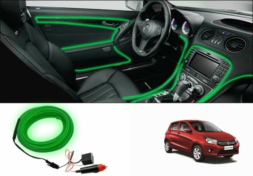 Speedwav Car Interior Ambient Wire Decorative Led Light For Maruti