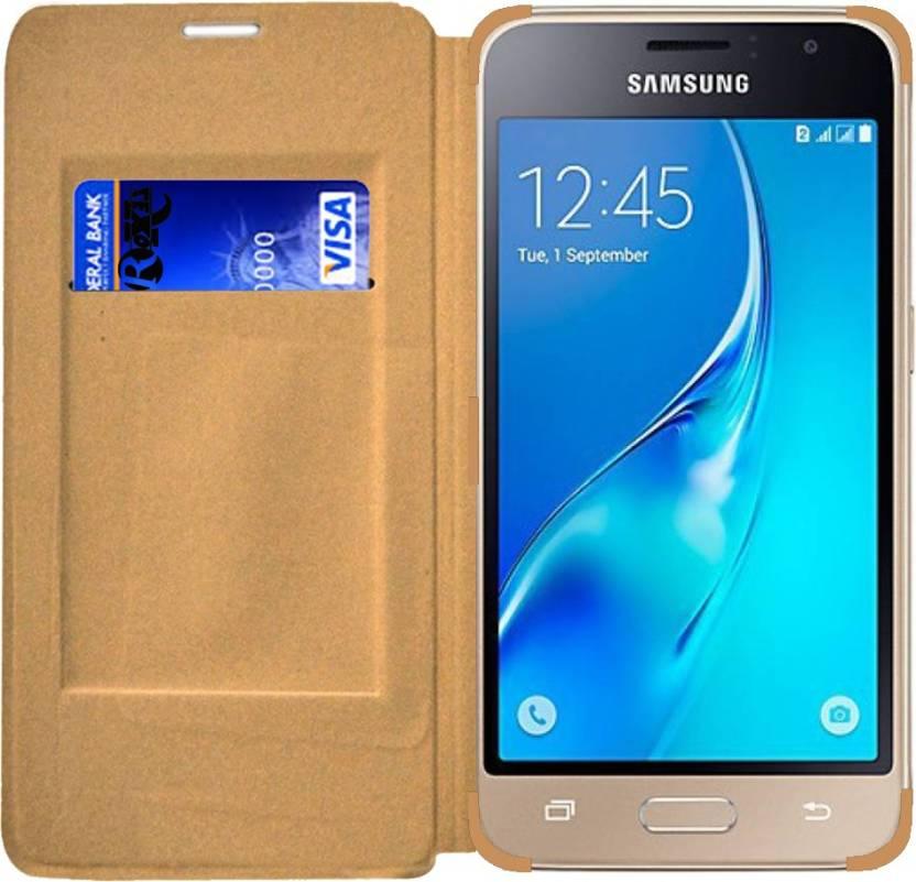 half off 615b5 4b10f Roxel Wallet Case Cover for Samsung Galaxy J1 4G Gold - Roxel ...