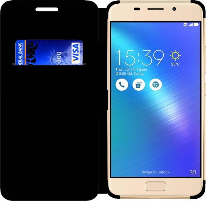 buy popular 87724 71b7a Roxel Wallet Case Cover for Asus Zenfone 3s Max