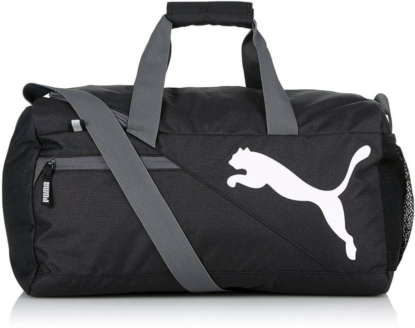 fe235a1c38 Puma Fundamentals Sports Bag S Gym Bag Black - Price in India ...