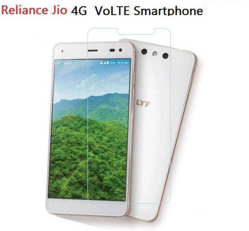 quality design 41af9 3fddc Azzil Tempered Glass Guard for Reliance Jio 4G VoLTE Smartphone ...