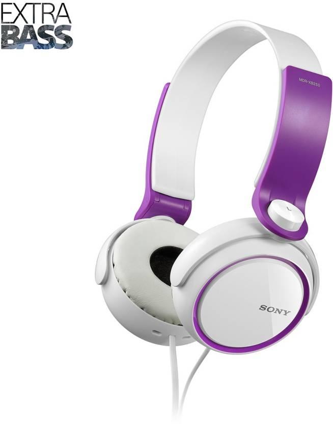 3db5ce18674 Sony MDR-XB250 Headphone Price in India - Buy Sony MDR-XB250 ...