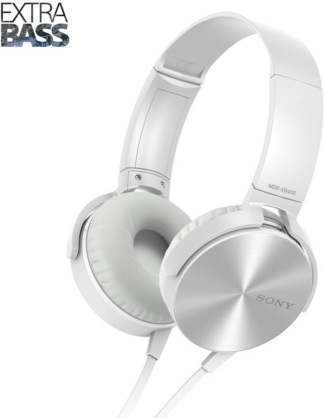 Sony XB450 Wired Headset without Mic