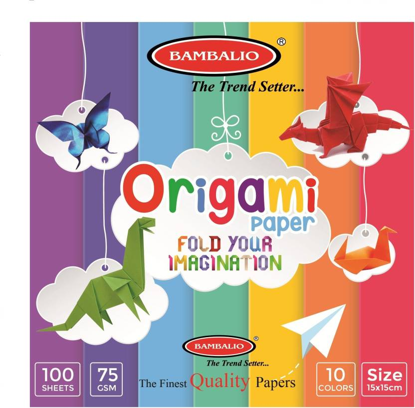 Flipkart Bambalio Origami Paper Pack Of 400 Sheets Smooth