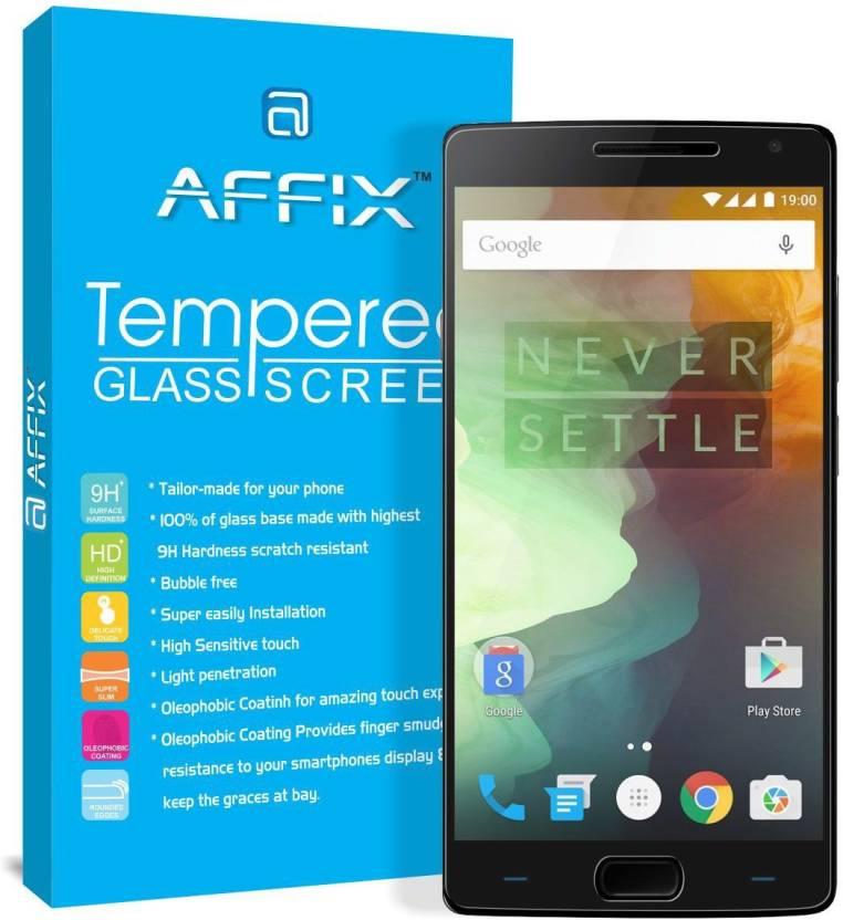 d99e2ccc96d1 Affix Tempered Glass Guard for OnePlus 2 - Affix : Flipkart.com