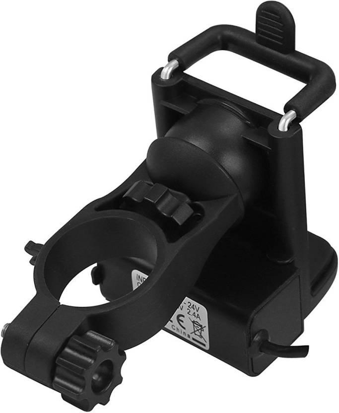 online retailer c463d e7126 EcomBiz 2 in 1 Waterproof Motorcycle Mobile Phone Mount Holder with ...