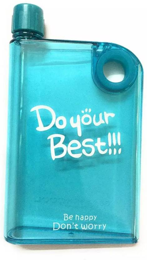 octane DO YOUR BEST Water Bottle Sport Outdoors Notebook Creative Plastic  A5 Memo 380 ml Bottle