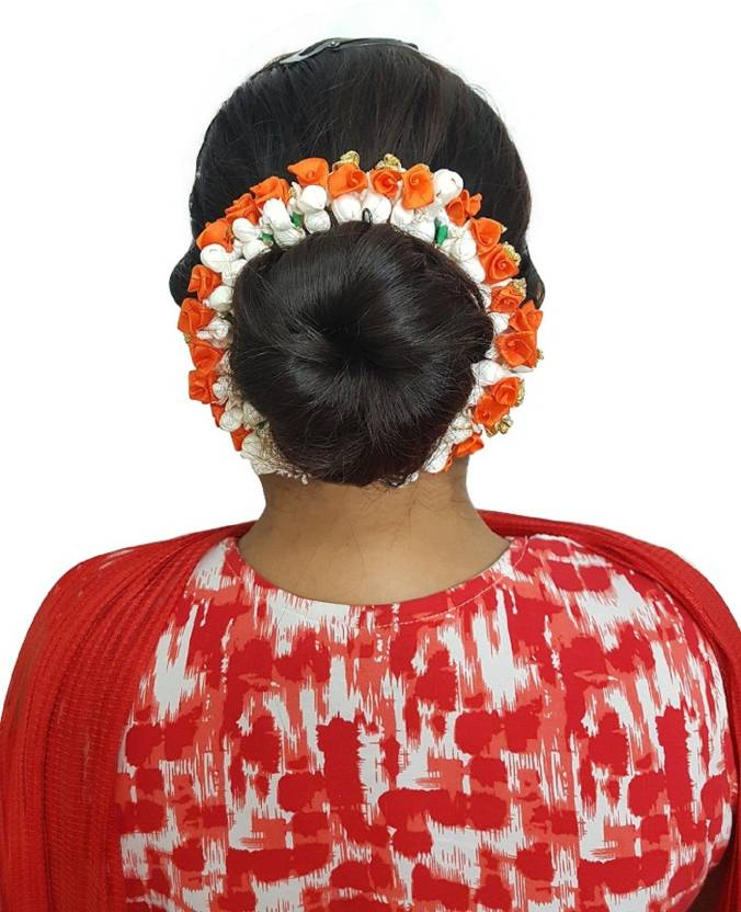 Kabello South Indian Wedding Flowers Hair Accessories For Women Hair