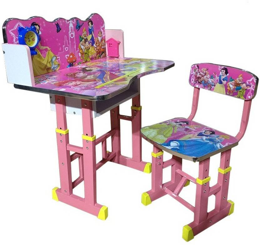 Pleasant Lakdi Princess Study Kids Desk Chair Set By Lakdi The Gamerscity Chair Design For Home Gamerscityorg
