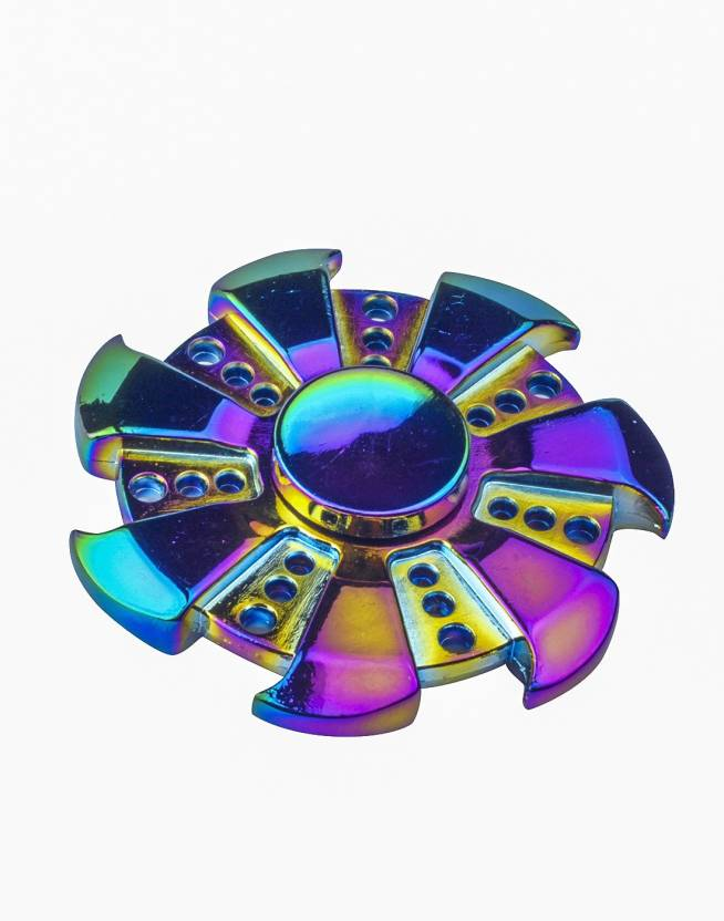 Sirius Toys Rainbow Wheel Finger Fidget Spinner