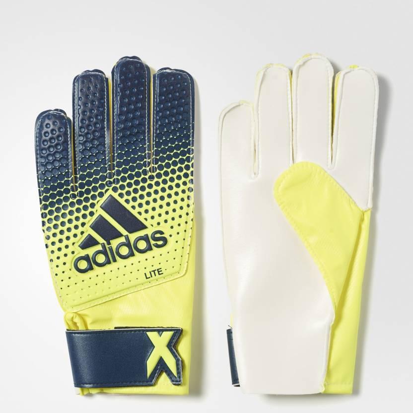 69db4d1a8 ADIDAS X Lite Goalkeeping Gloves (M, Blue, Yellow, Silver) - Buy ADIDAS X  Lite Goalkeeping Gloves (M, Blue, Yellow, Silver) Online at Best Prices in  India ...