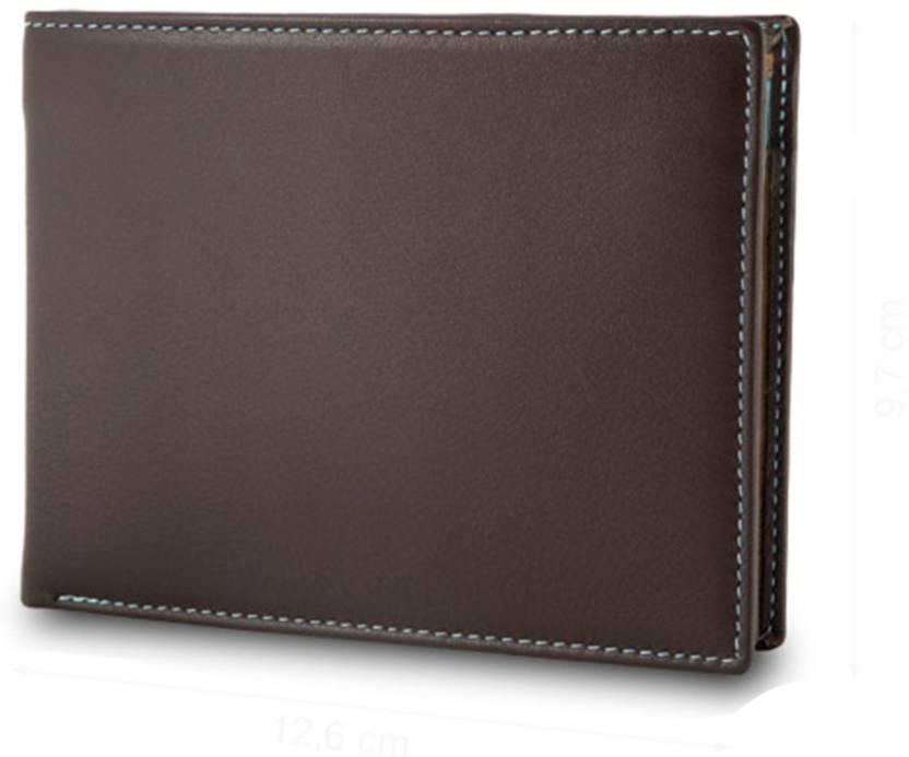 19992023e096 Dudu Men Brown Genuine Leather Wallet Dark Brown - Price in India ...
