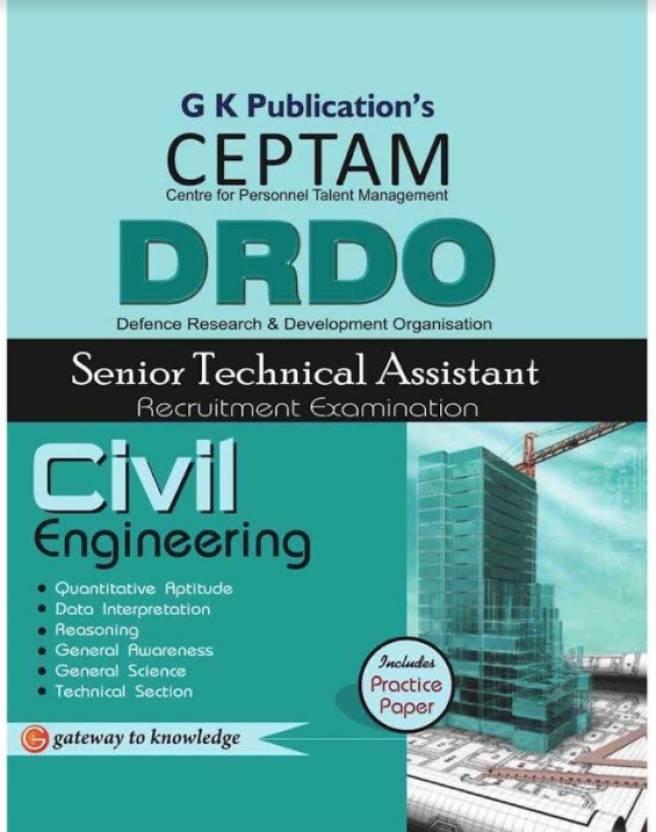 DRDO (CEPTAM) Sr.Tech. Asst. Civil Engineering (Code - OT-314) 5/e 5th  Edition