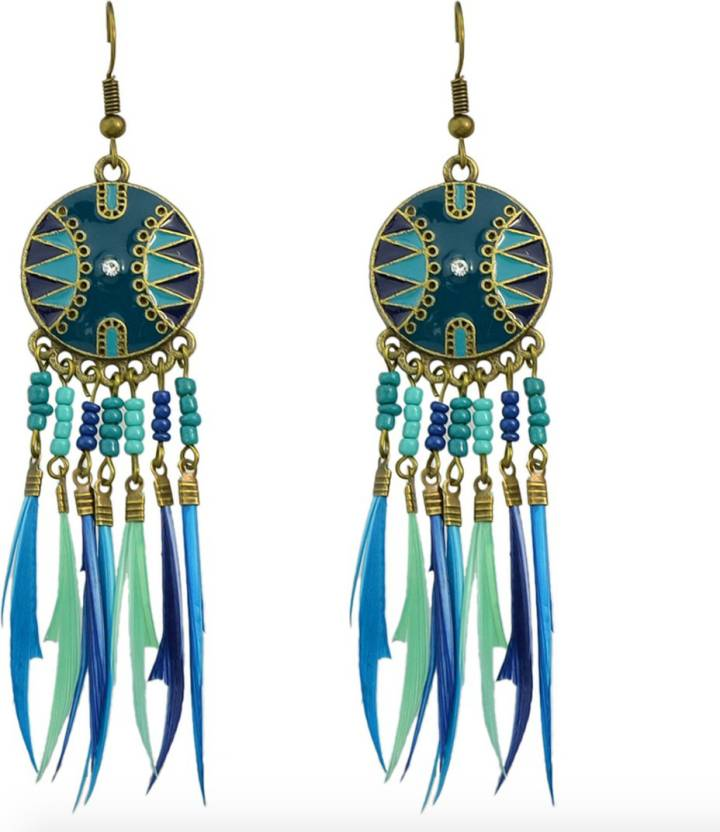 Flipkart Buy The Kiki Label Dream Catcher Metal Dangle Earring Inspiration Dream Catcher Earrings Online