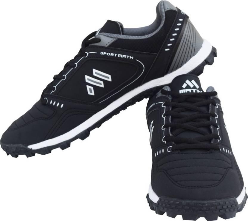 34993dc35d72 Math Hurricane Cricket Shoes For Men - Buy Black Grey Color Math ...