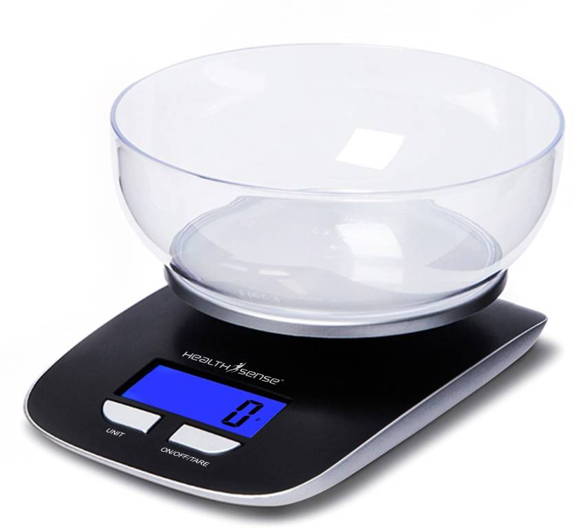 Health Sense Chef Mate Digital Kitchen Weighing Scale