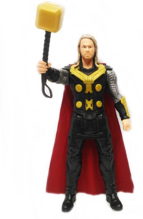 Montez Thor Classic Titan Tech Ultimate Super Power Action Figure Responds  with Touch