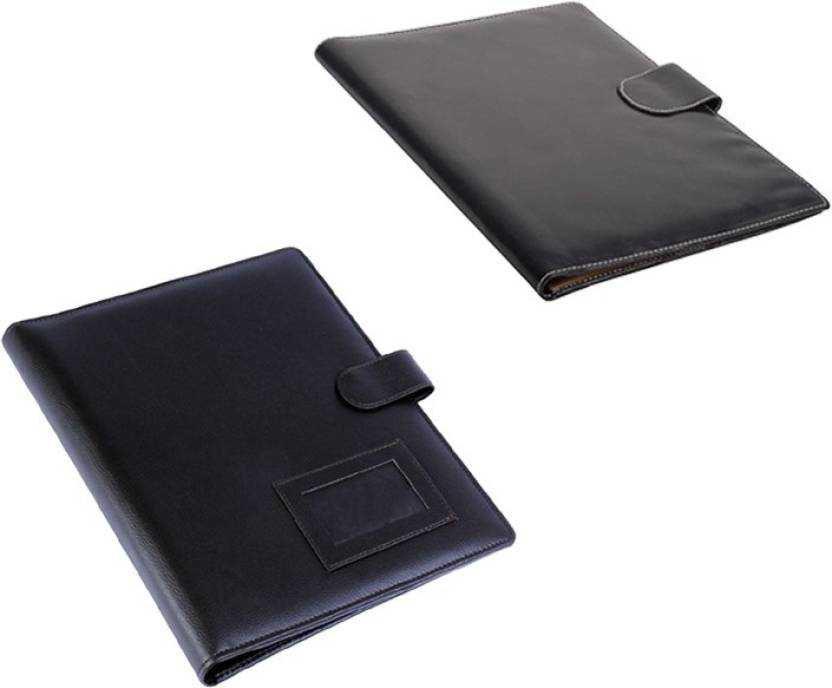 Flipkart Coi Leatherite Brown And Black File Folder And Resume
