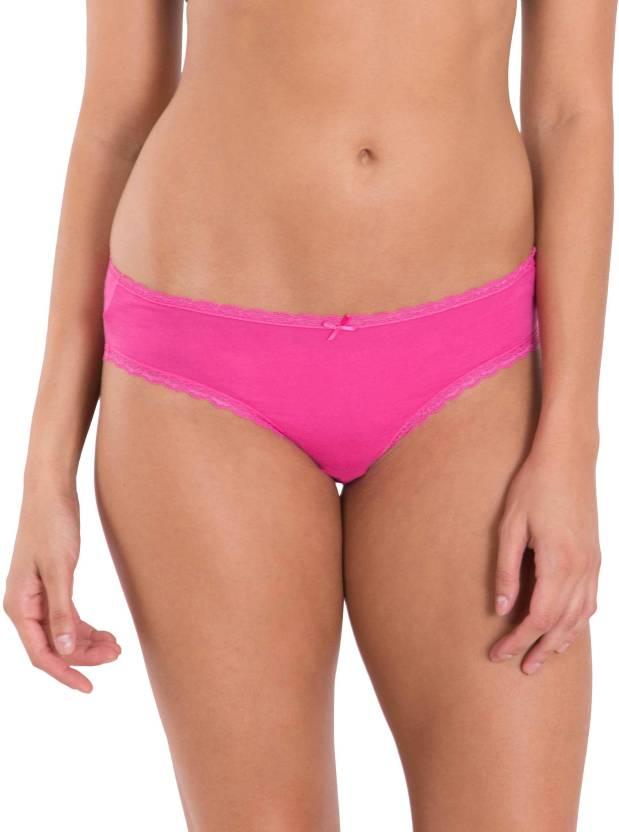534c76d13e Jockey Women s Bikini Pink Panty - Buy Phlox   Cosmic pink Jockey ...