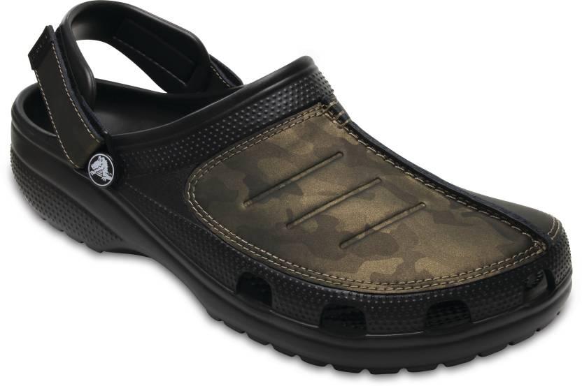 7eb5e388d97 Crocs Men Black Sandals - Buy 204883-0DQ Color Crocs Men Black Sandals  Online at Best Price - Shop Online for Footwears in India