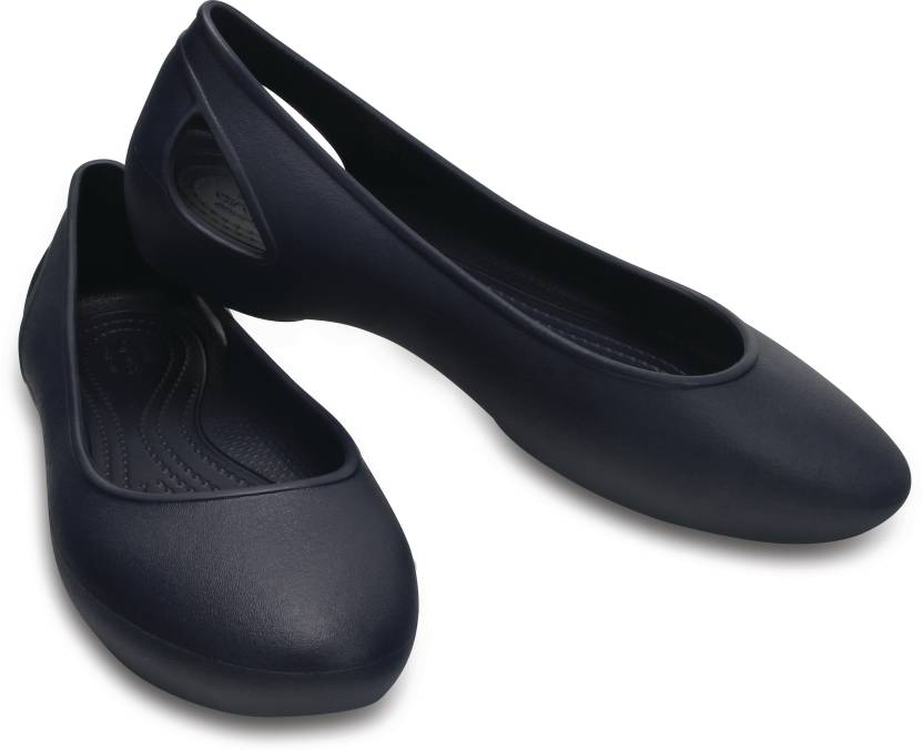 Crocs Women Navy Heels