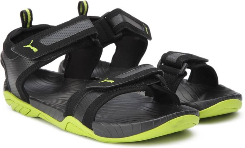 c47ebdf81ed Puma Men Puma Black-Limepunch Sports Sandals - Buy Puma Black-Limepunch Color  Puma Men Puma Black-Limepunch Sports Sandals Online at Best Price - Shop ...