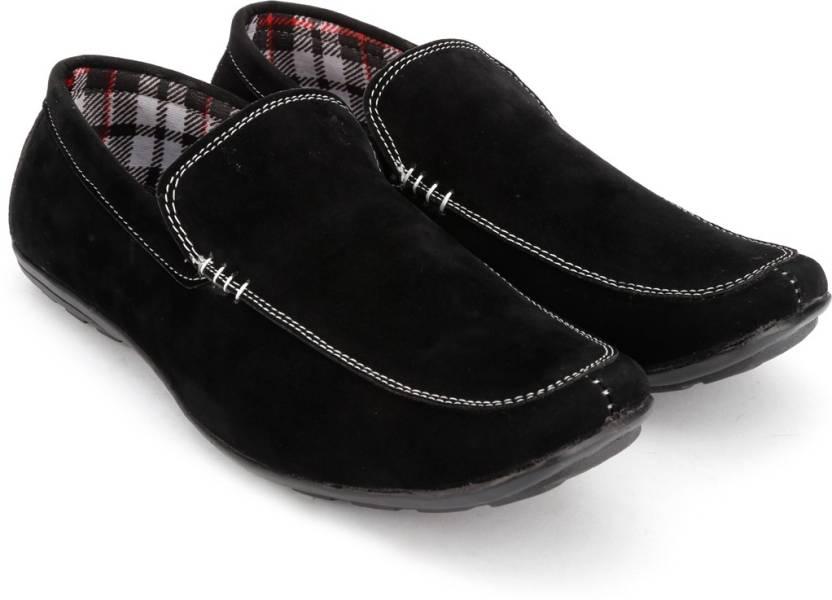 62edb9d058271 Arthur Loafers For Men - Buy Black Color Arthur Loafers For Men ...