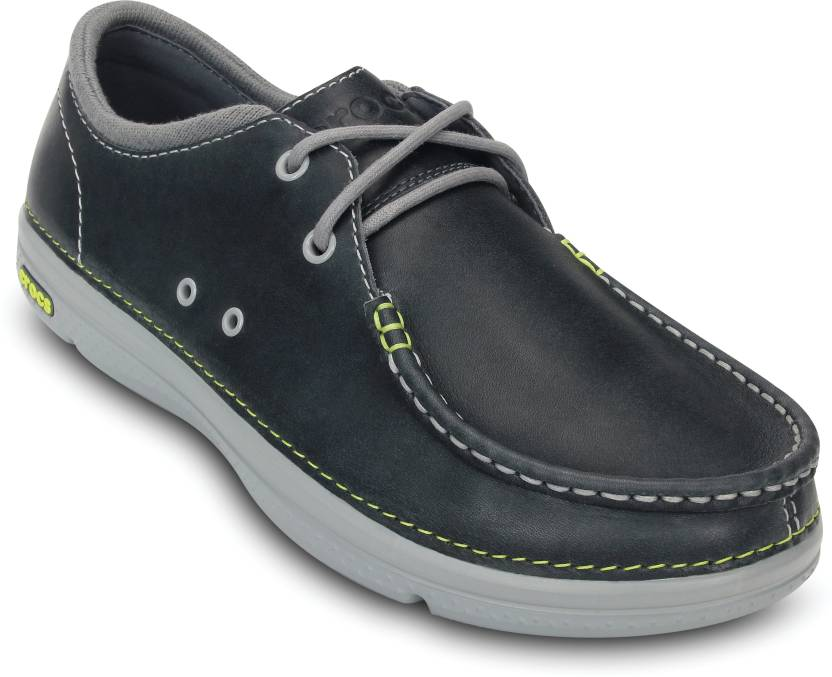 fde9e73780888f Crocs Thompson II.5 Lace Boat Shoe For Men - Buy Grey Color Crocs ...