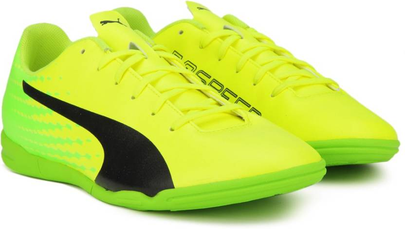 Puma evoSPEED 17.5 IT Football Shoes For Men - Buy Safety Yellow ... 44a9a0ac9