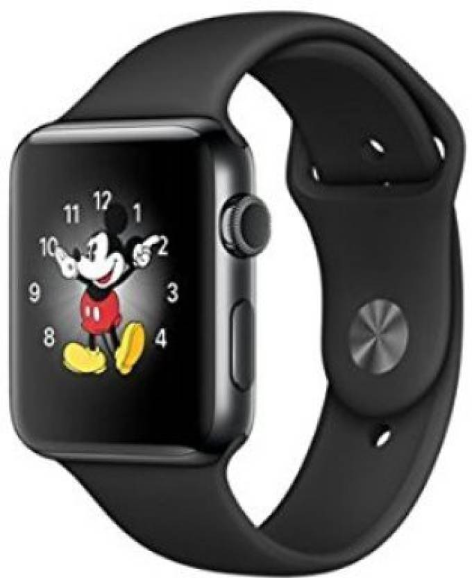 10e102c83c1 MobStore Daps Watch Wrist Watch Phone with Camera   SIM Card Support Black  Smartwatch (Black Strap Regular)