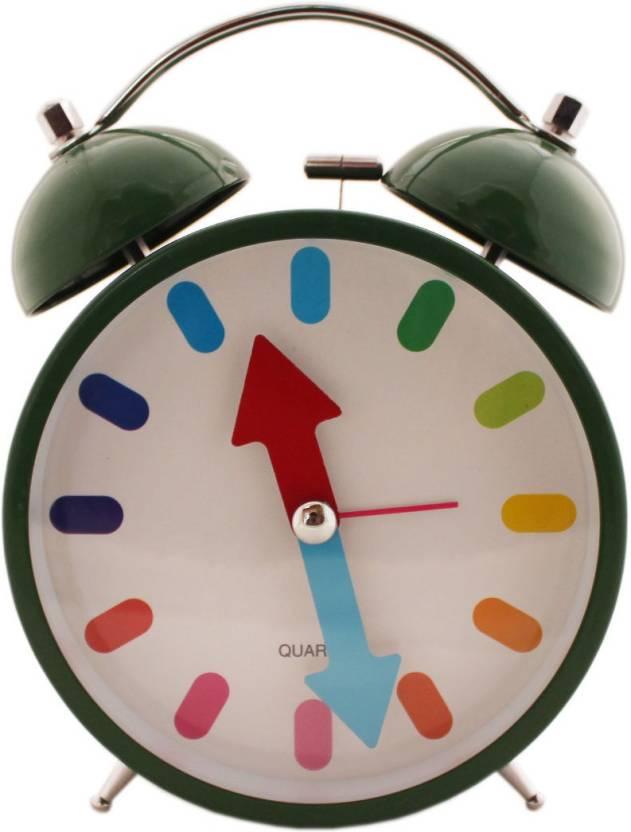 Tootpado Analog Dark Green Clock Price in India - Buy