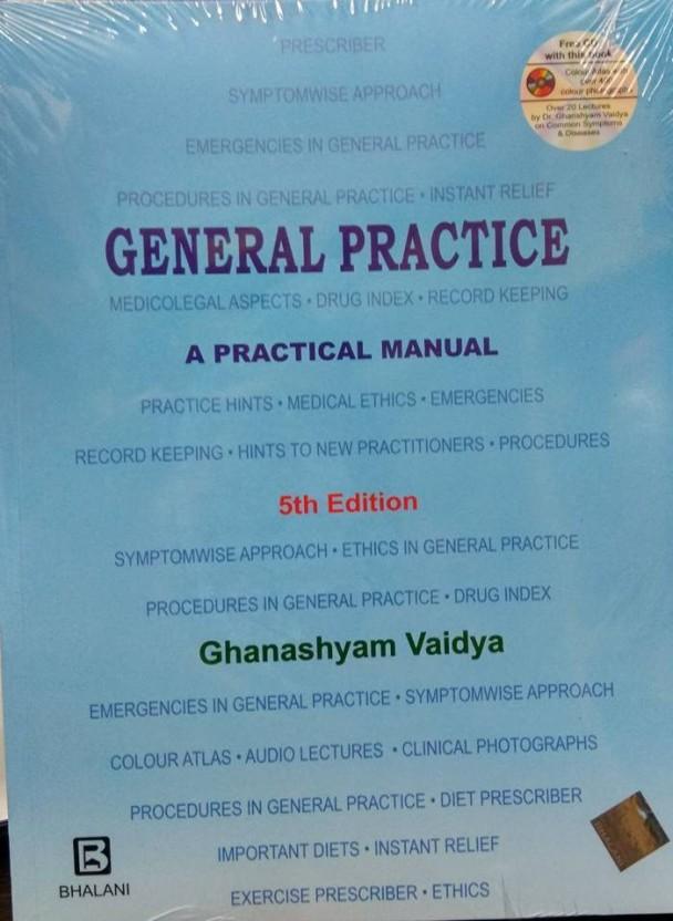 Ghanshyam Vaidya General Practice Book