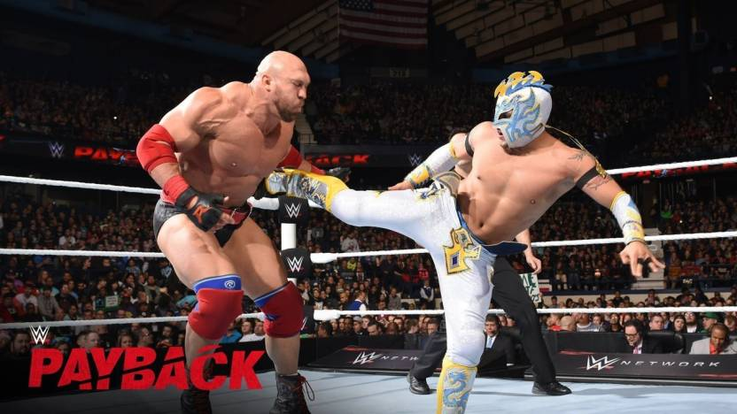Rey Mysterio Famous Wrestler Of Wwe In Fight Hd Wallpaper Poster