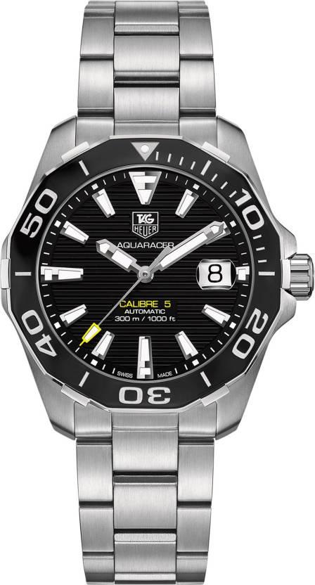 Tag Heuer Way211a Ba0928 Aquaracer Calibre 5 Watch For Men