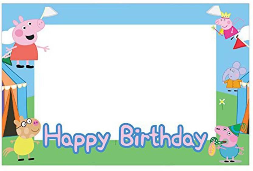 Party Propz Multicolor Peppa Pig Birthday Decoration 1 G