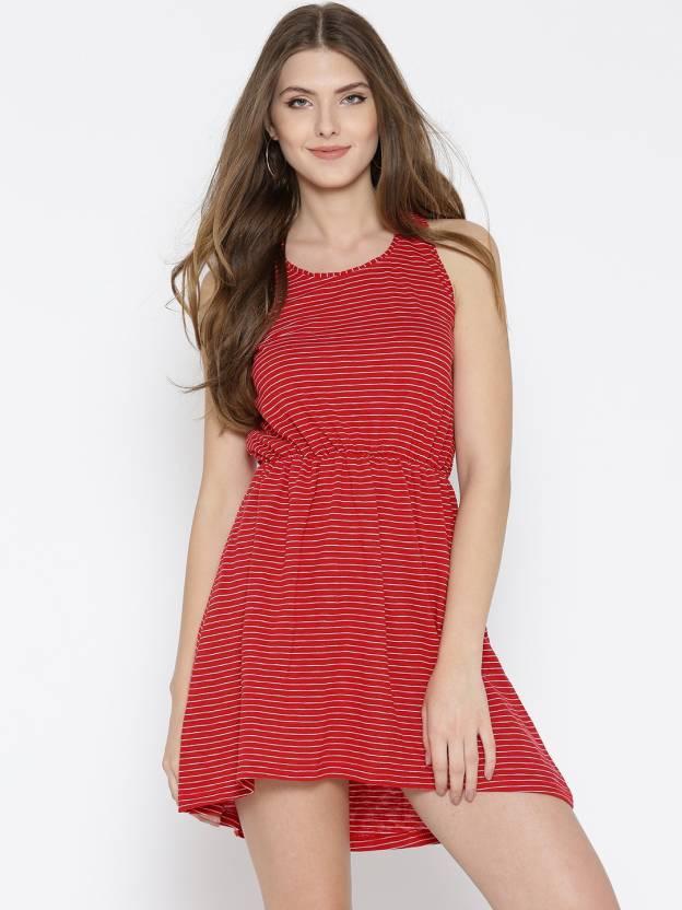 00d75c00a0 Sera Women Gathered Red Dress - Buy Sera Women Gathered Red Dress Online at Best  Prices in India | Flipkart.com