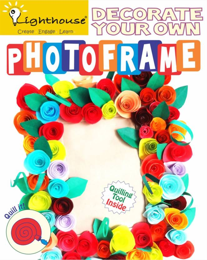 Lighthouse Make Your Own New Photoframe Quilling - DIY Kit - Make ...
