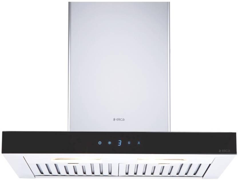 online retailer 148aa b2b37 Elica Spot ETB Plus LTW 60 cm Slim TC3V LED Wall Mounted Chimney (Silver  1220 m³ h)